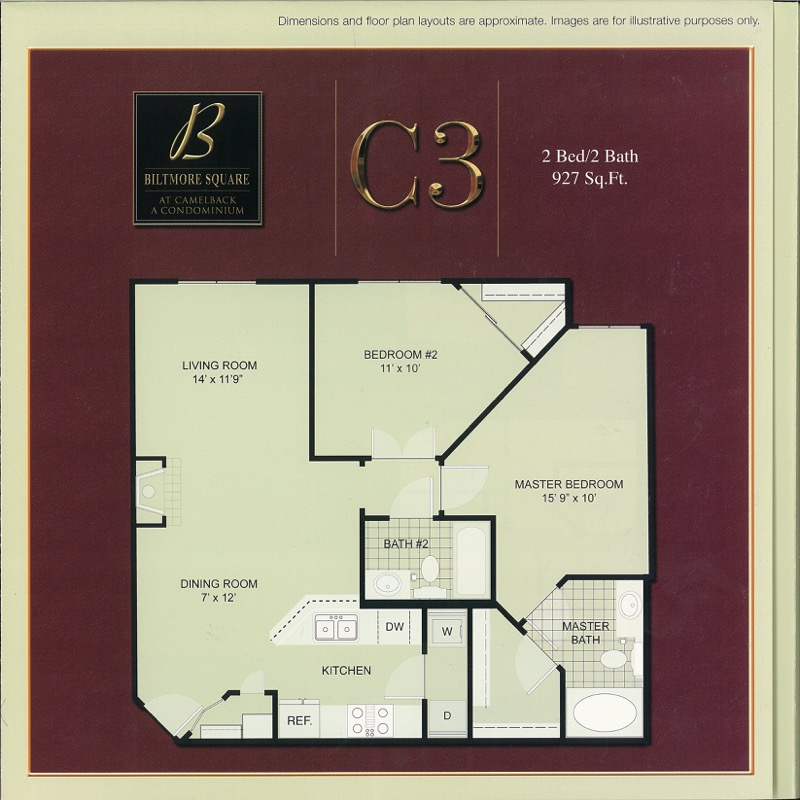 C3: Medium 2 Bedroom